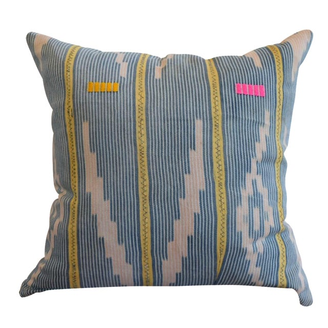 African Baoule Pillow - Image 1 of 4