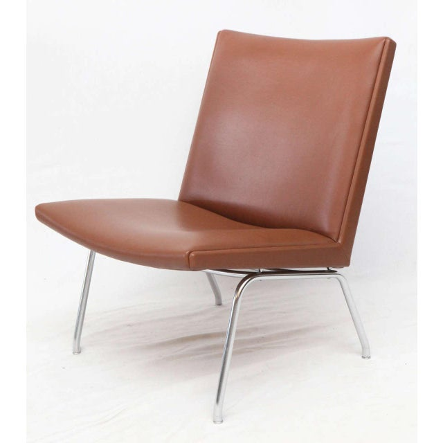 1960s Hans Wegner AP 39 Lounge Chairs For Sale - Image 5 of 10