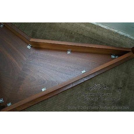 Mid Century Modern Studio Made Triangle Boomerang Low Table For Sale - Image 9 of 13