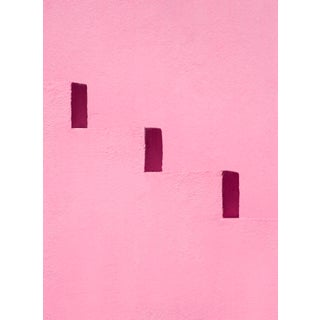 """""""Pink Steps"""" Contemporary Minimalist Limited Edition Photograph by Daniel Holfeld For Sale"""