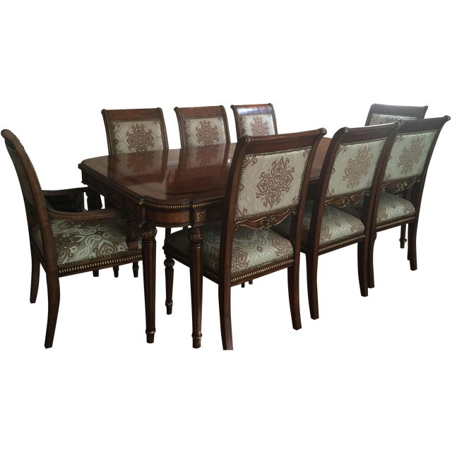 Transitional Style Dining Set - Image 1 of 11