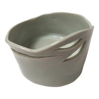 Bisque White Ceramic Bowl