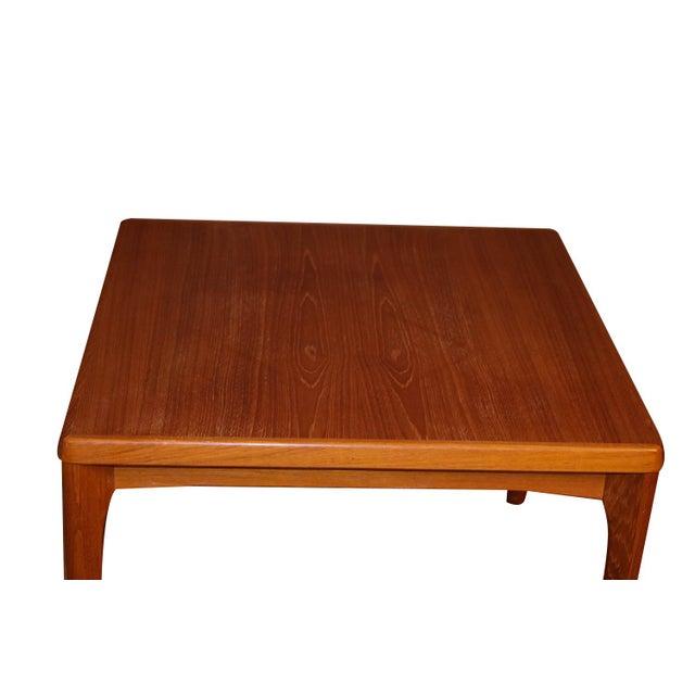 Brown Mid Century Vejle Stole Mobelfabrik Danish Side Table For Sale - Image 8 of 11