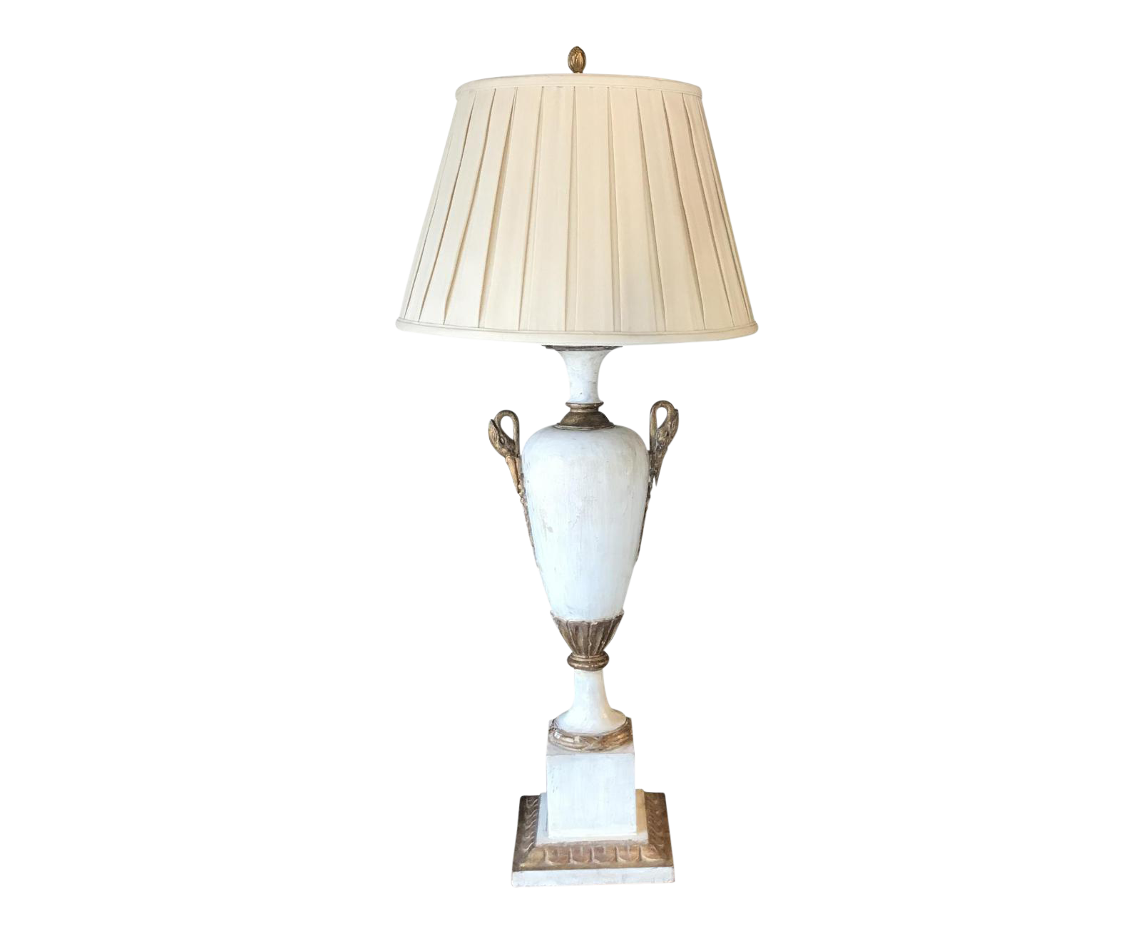 Painted Urn Table Lamp