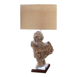 Embellished Bust as a Lamp For Sale