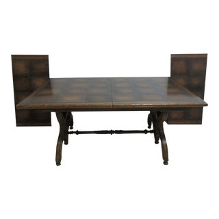 Vintage Jamestown French Oak Dining Table