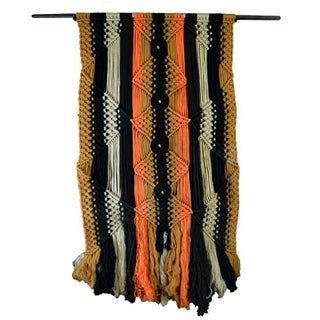 Color Lines Macrame Wall Art For Sale