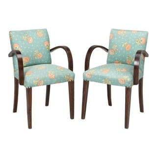 """1940s French """"Bridge"""" Chairs - a Pair For Sale"""