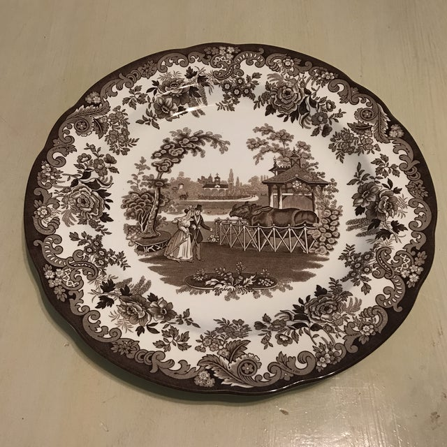 The Spode Archive Collection Plates - Set of 6 For Sale - Image 5 of 10