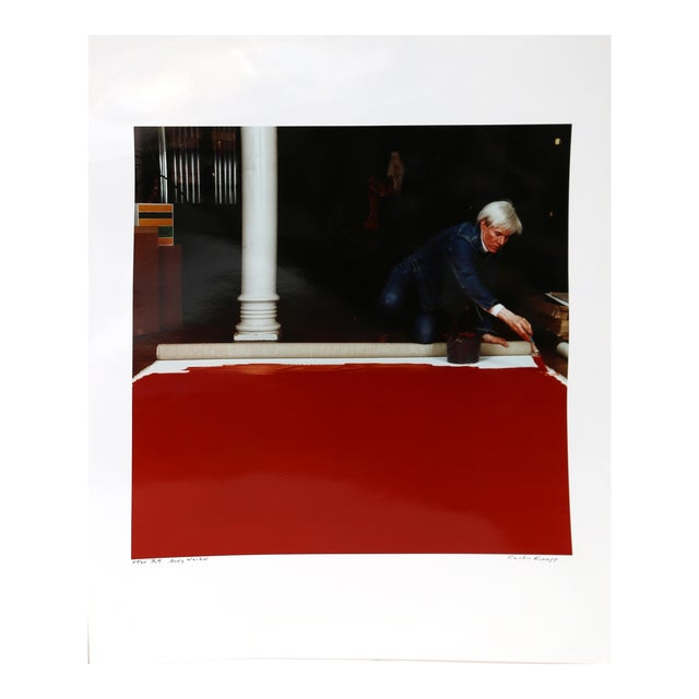 Andy Warhol Red Series IV For Sale