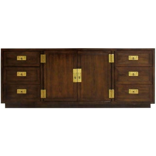 1970s Heredon Scene One Camaign Credenza For Sale