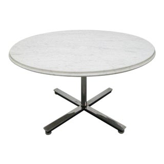 Nico Zographos Marble Top Table Coffee Table For Sale