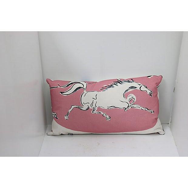 """Vintage Pierre Frey & Vincent Darrè """"Au Lasso"""" Pillow For Sale - Image 4 of 4"""