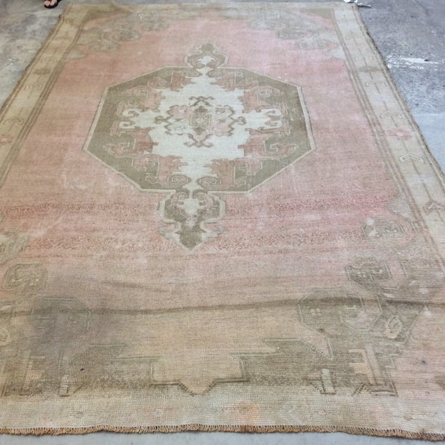 "Turkish Anatolian Rug -6'6""x10'6"" For Sale - Image 11 of 13"