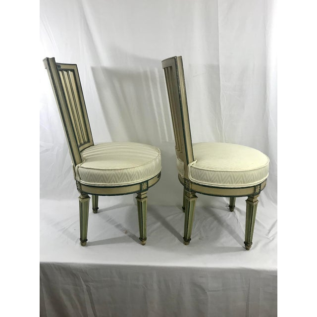 Italian Classical Italian Dining Chairs Set of 4 For Sale - Image 3 of 12