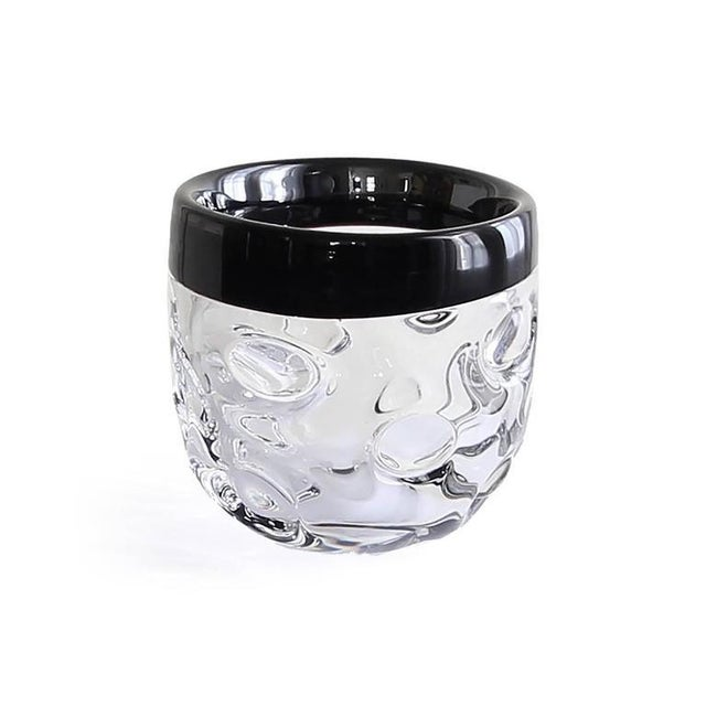This limited edition, handcrafted crystal bowl was produced by Studio Glashyttan i Åhus AB in Sweden in 2001. The design,...