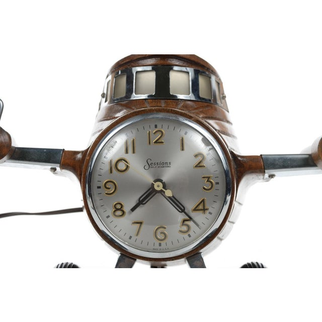 MasterCrafters Sessions Airplane Electric Clock - Image 3 of 10