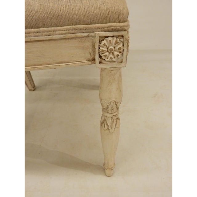 Four Painted Directoire Style Side Chairs For Sale - Image 4 of 7