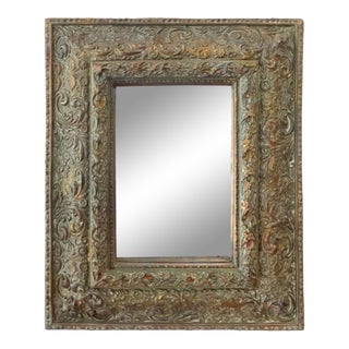 Contemporary Vertical Accent Wall Mirror For Sale
