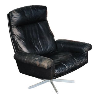 De Sede D31 Swivel Lounge Chair For Sale