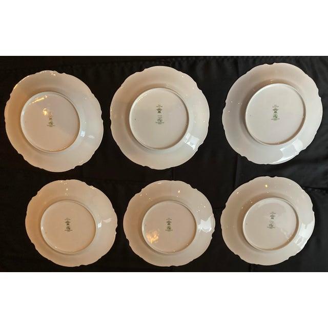 Vintage Hutschenreuther Brighton Dinner Plates - Set of 6 For Sale - Image 12 of 13