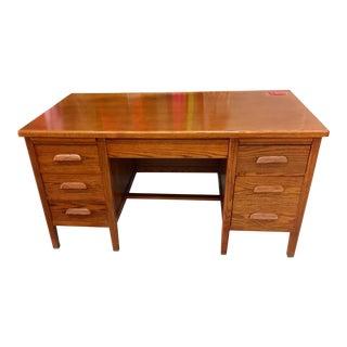 Oak Executive Principal's Desk