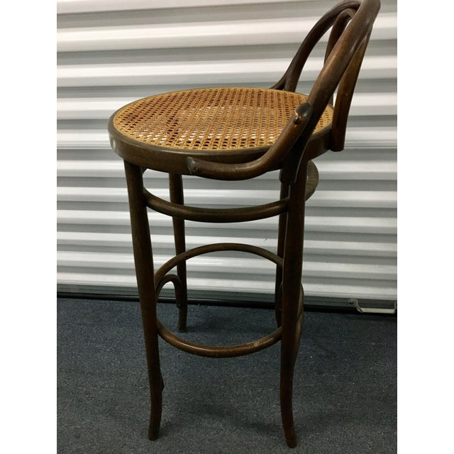Wood Vintage Salvatore Leone Bentwood Bistro Chair For Sale - Image 7 of 10