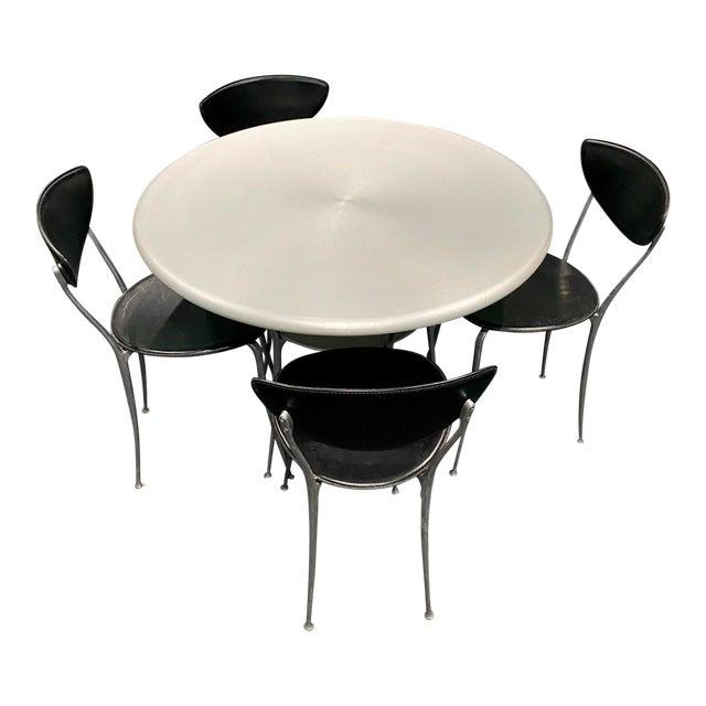 Arper Vintage Mid-Century Modern Dining Set For Sale