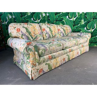 Floral Upholstered Sofas by Robb and Stucky - A Pair Preview