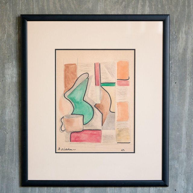 Ben Nicholson slant select -- Untitled. Nicholson (Royal Artist UK) For Sale - Image 4 of 4