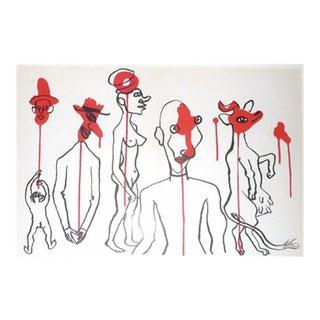 """""""Derriere Le Miroir # 156"""" Calder Original Lithograph"""