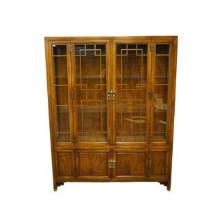 Century Furniture Asian Inspired Chinoiserie Cabinet For Sale