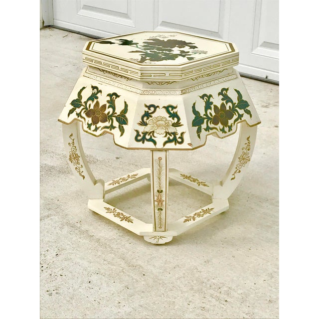 Pleasing 1970S Vintage Wooden Asian Garden Stool Gmtry Best Dining Table And Chair Ideas Images Gmtryco