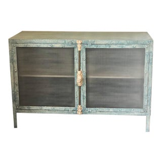 Arteriors Finn Metal Cabinet For Sale