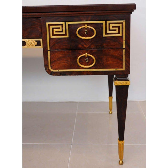 Fine French Ormolu-Mounted Desk, by Forest For Sale - Image 9 of 11