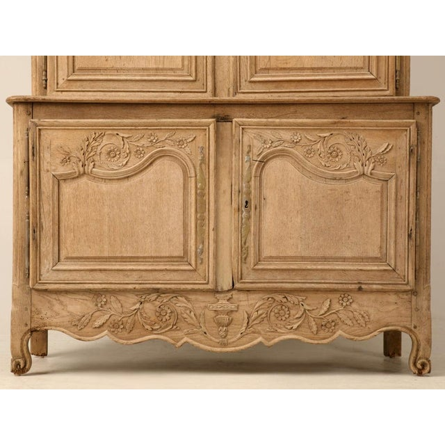 18th C. Antique French Oak Normandy Buffet - Image 5 of 10