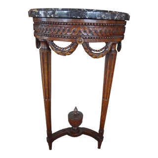 Louis XVI Demi Lune Console Table For Sale