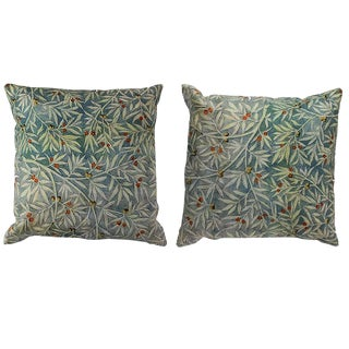 Persian Decorative Accent Pillows - a Pair For Sale