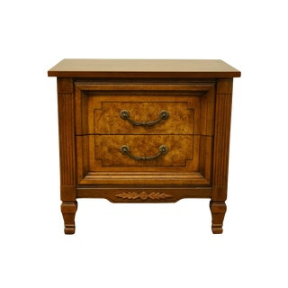 Late 20th Century Dixie Furniture Italian Provincial Nightstands- A Pair For Sale