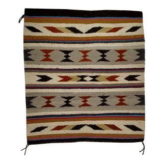 Vintage Navajo Handmade Tribal Rug - 2′6″ × 2′10″ For Sale
