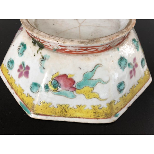 Antique Chinese Export Porcelain Bowls - a Pair - Image 4 of 11