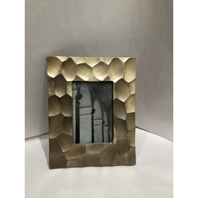 Brushed Gold 4x6 Picture Frame For Sale - Image 9 of 9