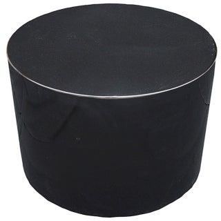 Harvey Probber Swivel Black Lacquer Pedestal For Sale