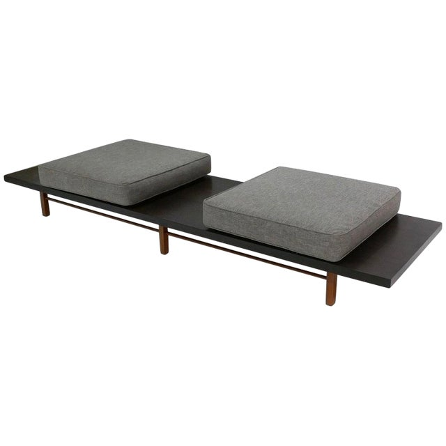 Milo Baughman for Thayer Coggin Low Table or Gallery Bench With Cushions For Sale