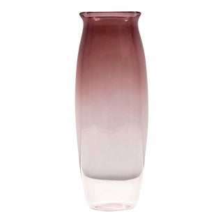 "Sergio Asti ""Tulipani"" Tall Alexandrite Vase for Salviati, 2003 For Sale"