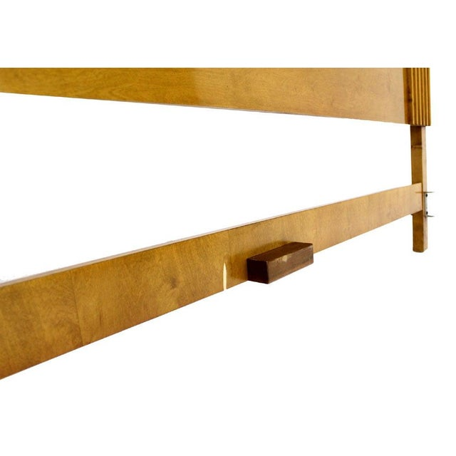 Edmond Spence Solid Birch Swedish King Size Headboard Bed For Sale - Image 10 of 11