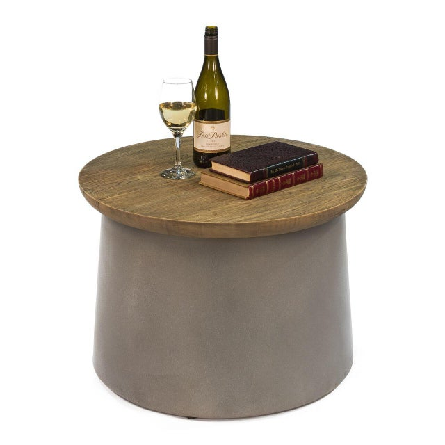 Contemporary Sarreid Ltd Malina Side Table For Sale - Image 3 of 5