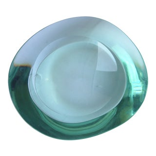 1950s Fontana Arte Glass Bowl For Sale