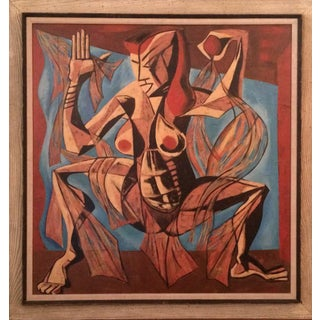 Untitled Painting by Walter Sanford For Sale