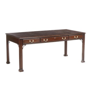20th Century Federal Harden Georgian Style Writing Desk For Sale